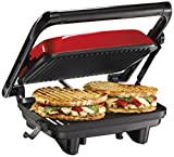 Make your own Panini's with the Panini Press Gourmet Sandwich Maker. It will grill sandwiches of almost any thickness and when you're done, it stores upright saving cabinet space.