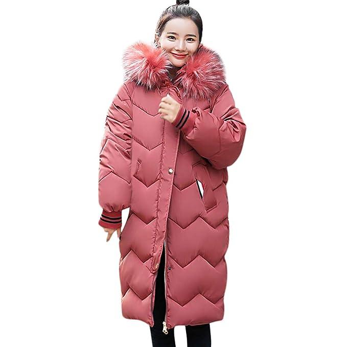 ASHOP Ropa Mujer, Chaquetas de Mujer Invierno Abrigo Rebajas Desigual AlgodóN con Capucha Outwear (