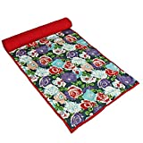 Colorful Exercise Mat Yoga Accessories Cushioned Cotton Bag Bottle Holder Strap