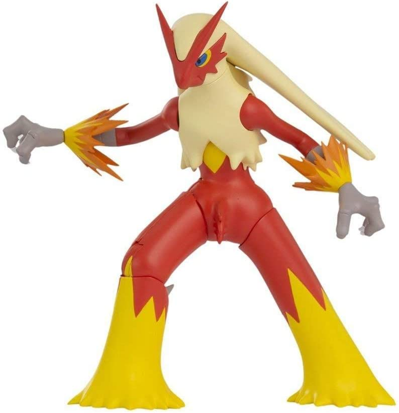 Pokemon Battle Feature Figure Lohgock Wave 4 Blaziken Pokémon Spielzeug