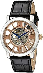 Stuhrling Original Men's 280.331514 Classic Winchester Terrace Mechanical Skeleton Rose Tone Watch