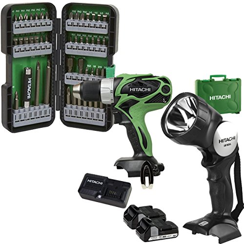 DS18DSAL Hitachi 18V 1.5Ah Lithium Ion Compact Pro Driver Drill