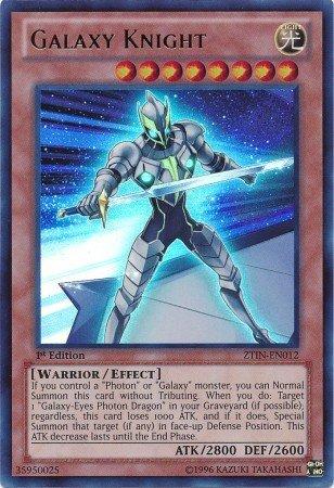 Yu-Gi-Oh!! - Galaxy Knight (ZTIN-EN012) - 2013 Zexal Collection Tin - 1st Edition - Ultra Rare (Best Galaxy Eyes Deck)