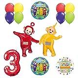 Teletubbies 3rd birthday LAA-LAA & PO Balloon Birthday Party supplies and Decorations