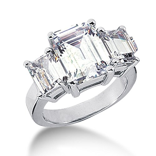 5 carat diamond ring - 3