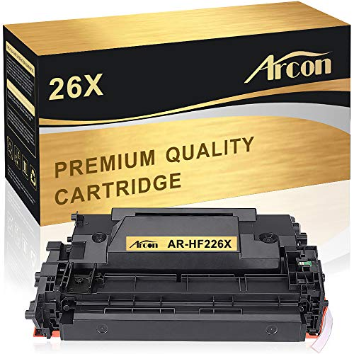 Arcon Compatible Toner Cartridge Replacement for HP 26X 26A CF226X M402n M402dn M426fdw HP Laserjet Pro M402n M402dw M402dn MFP M426fdw HP 402n 426fdw 402dn M426fdn M426dw M402d M402 M426 Printer Ink ()
