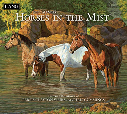 Lang Horses in The Mist 2020 Wall Calendar (20991001917)