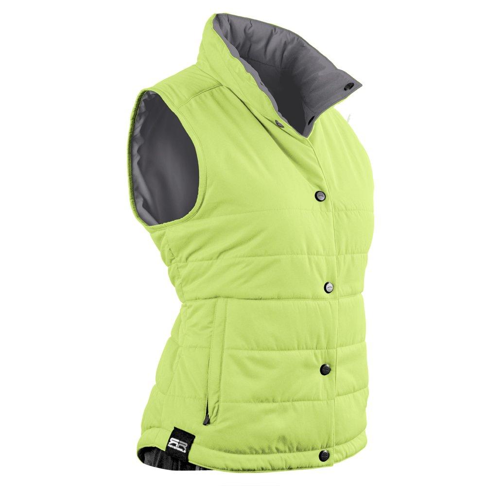 Sun Mountain Alpine Golf Vest 2016 Ladies Lime/Grey Large