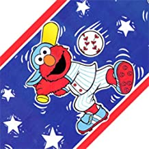 Sesame Street Elmo Sports Elmo Wallpaper Accent Border