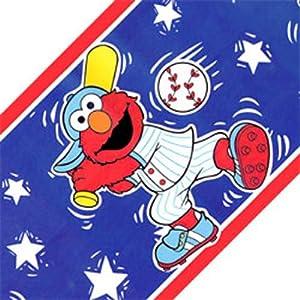 Sesame Street Elmo Border Sports Elmo Wallpaper Amazoncom