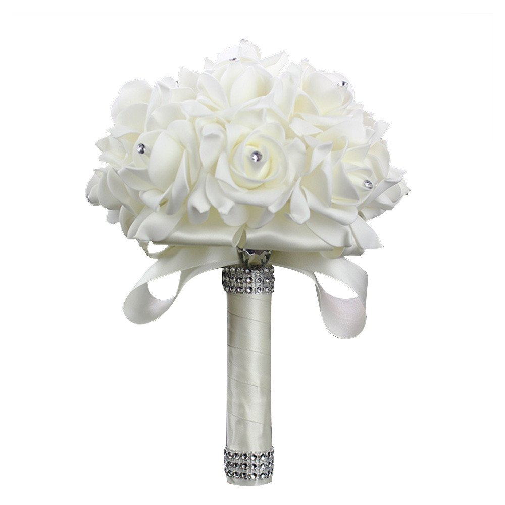 Best Silk Flower Bouquets For Wedding Amazon
