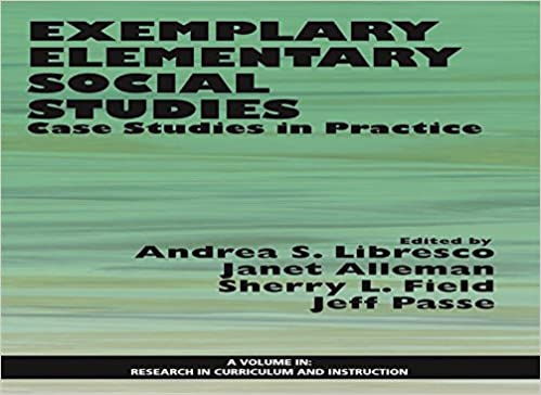 Curriculum And Instruction Social And >> Amazon Com Exemplary Elementary Social Studies Research In