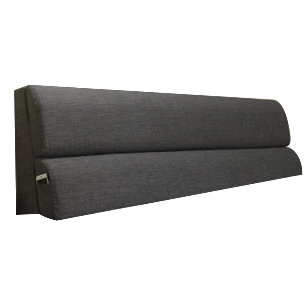 KD Bett Kopfkissen, Kissen Bett Keil zurück Taille Pad Kissen Gürtel weiche Tasche abnehmbar und waschbar zu Hause Schlafzimmer Gürtel ohne Kopfteil 4 Farben