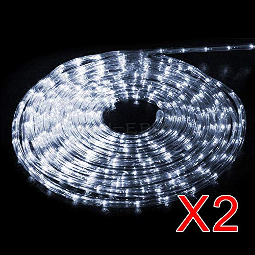 "Home Lamps Light Rope String Outdoor Tree Party Garden Lighting 100"" Cool White Tkmei from Unknown"