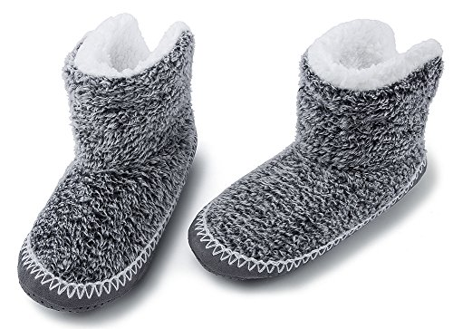 Pantofole Per La Casa Di Natale Sfocate Delle Donne Maamgic Ladies Cute Bedroom Indoor Winter Slippers Black