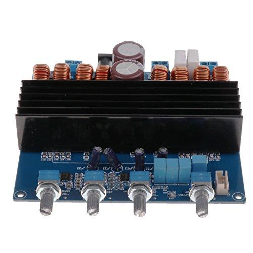 Dolity Módulo de Amplificador de Audio TDA7498 DC24V-32V 200W + 100W + 100W Digital Amplificador Board de Alta Calidad
