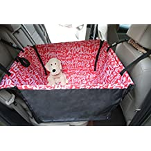 Winthome Dog Car Seat Cover Waterproof Washable Travel Car Seat Cover (Pink)