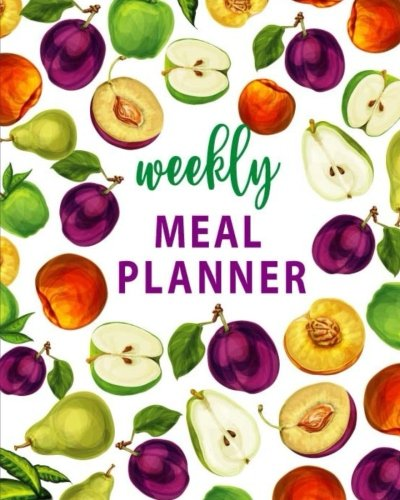 Weekly Meal Planner: 54 Week Food Planner / Diary with Grocery List for Planning Your Meals, Tracking, Budgeting, Meal Prep And Planning  (Weekly Meal Planner) (Volume 3) by Planner JK Studio