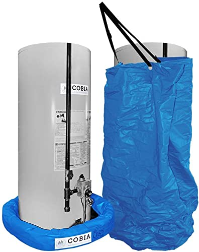 Cobia Hot Water Heater Flood Protection – Covers Utilities from Flood Damage, Leaks or Utility Failure – Fits Diameters up to 26