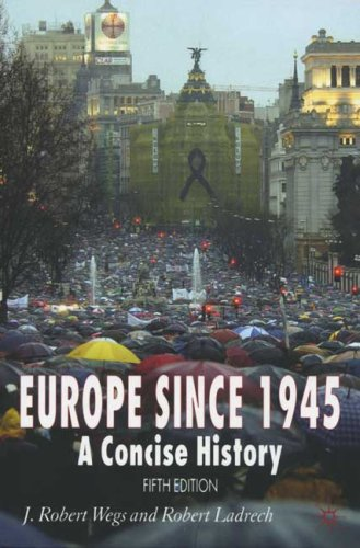 Europe since 1945: A Concise History