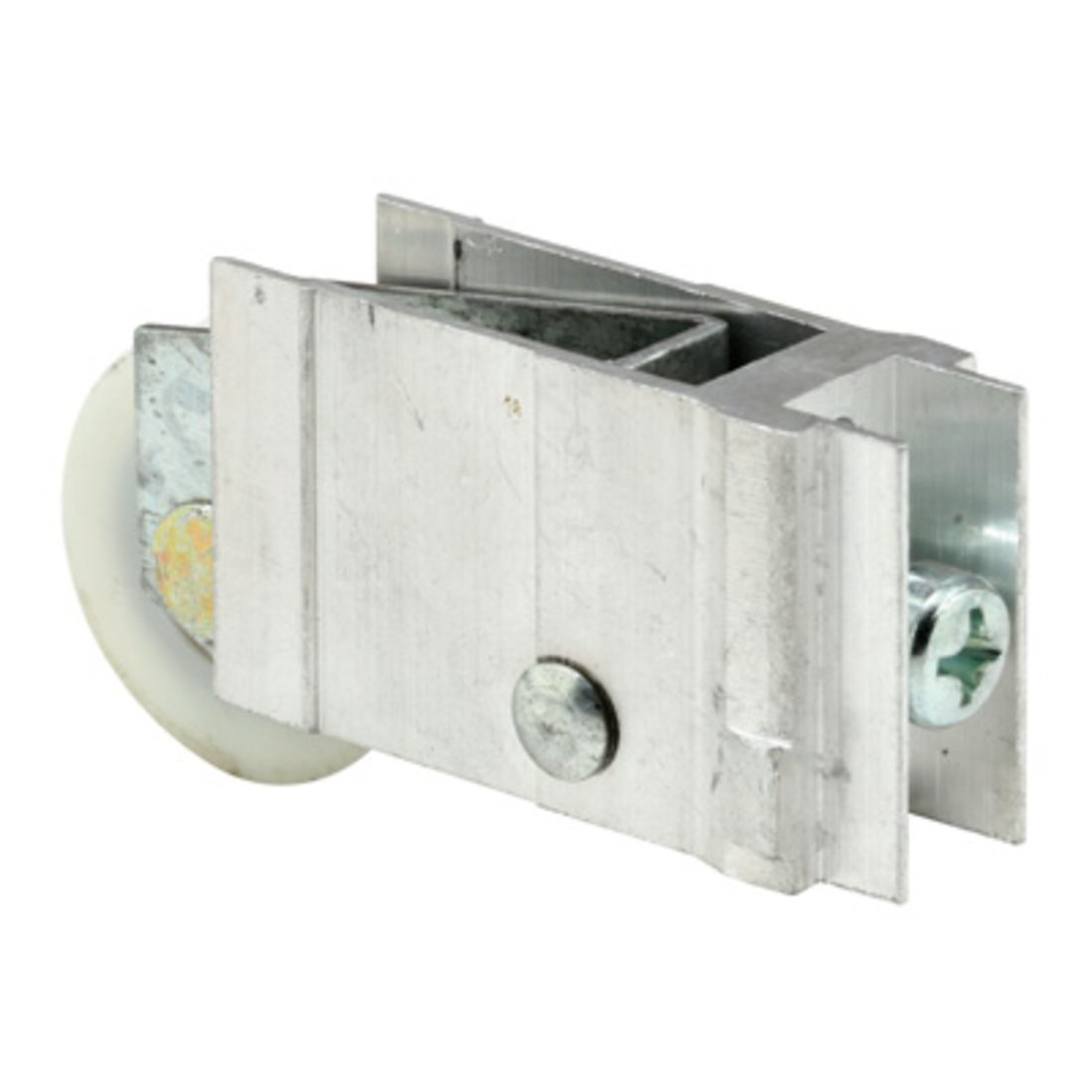 C.R LAURENCE D1953 CRL 1-1//4 Nylon Ball Bearing Sliding Glass Door Roller with 3//4 Wide Housing