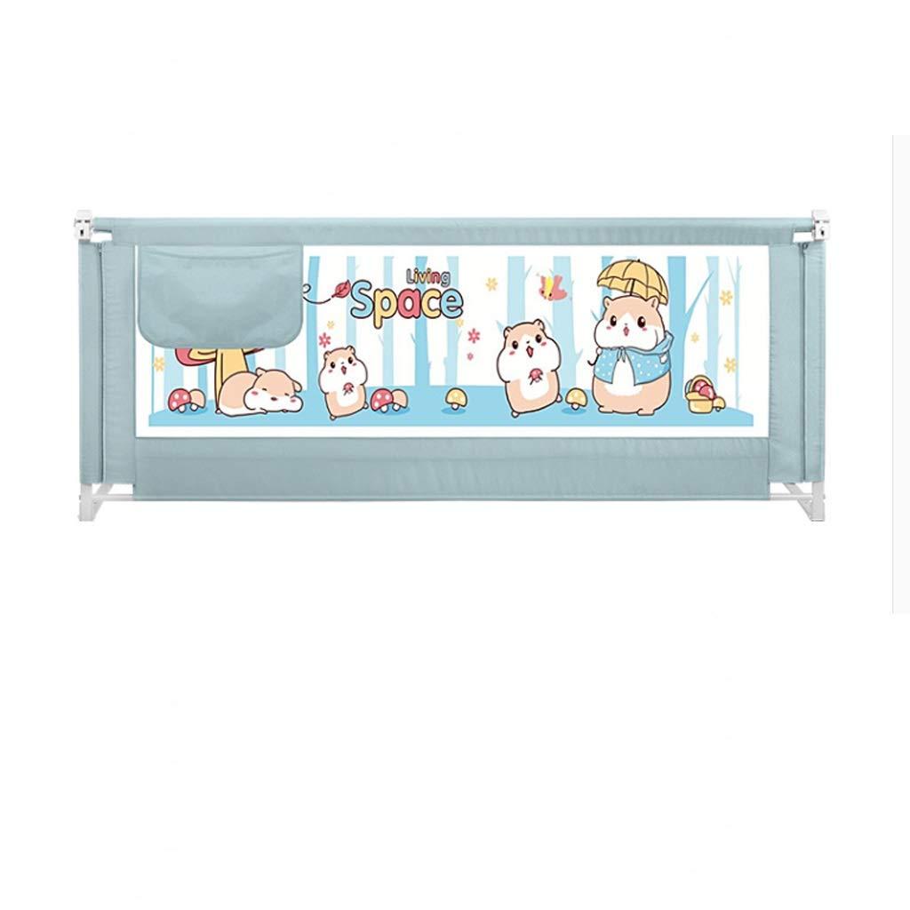 垂直持ち上げベッドのガードレールのベッドサイドフェンスの赤ちゃんのアンチドロップベッドのアンチフォールベッドのサイドバッフル SHWSM (Size : 1.5m×2.0m) B07TC5DFG8  1.5m×2.0m