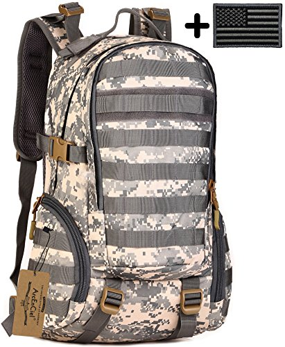 ArcEnCiel Water Resistant Backpack Military Trekking