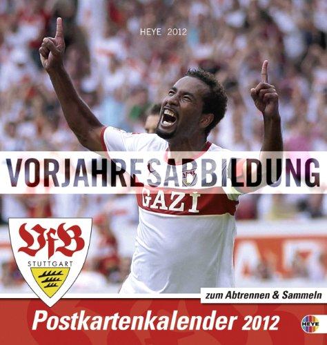 VfB Stuttgart 2013. Sammelkarten Postkartenkalender
