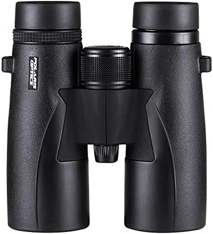 Polaris Optics SkyView Ultra HD 8X42 Bird Watching Binoculars With ED Glass. Waterproof, Wide Field of View, Close Focus. Better and Brighter Bird Watching Experiences in Ultra HD 8X42 Magnification
