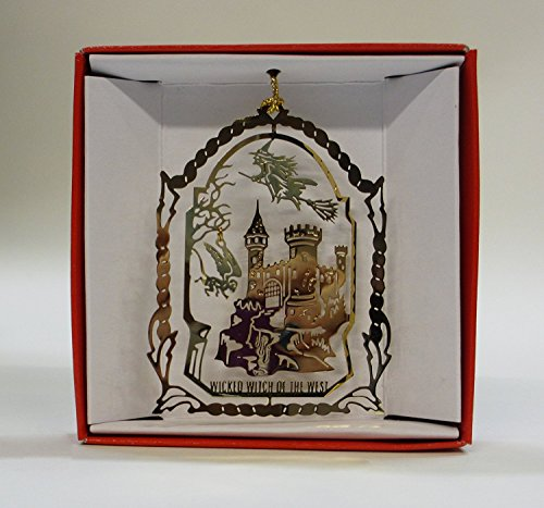 Wizard of Oz Christmas ORNAMENT Wicked Witch of the West Flying Monkey Evil ()