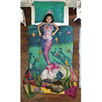 Dream Big Sea Princess Ultra Soft Microfiber 2-Piece...