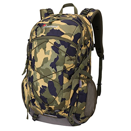 Mountaintop 40 Liter Unisex Hiking/Camping Backpack (Wodland (Camouflage Hiking Backpack)