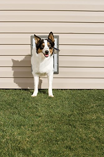 PetSafe Wall Entry Pet Door with Telescoping Tunnel, Medium, Taupe and White by PetSafe (Image #3)'