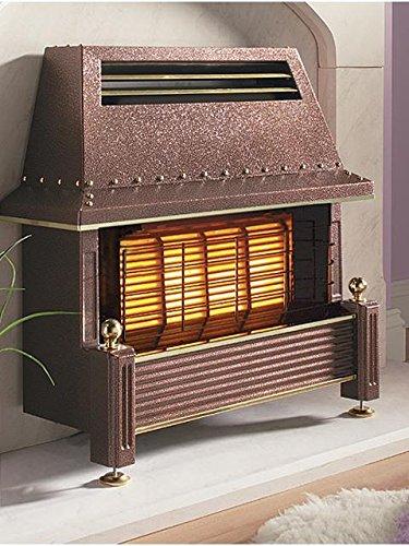 Flavel Regent Gas Fire - Natural Gas Heater, Outset Fireplace - Regency...