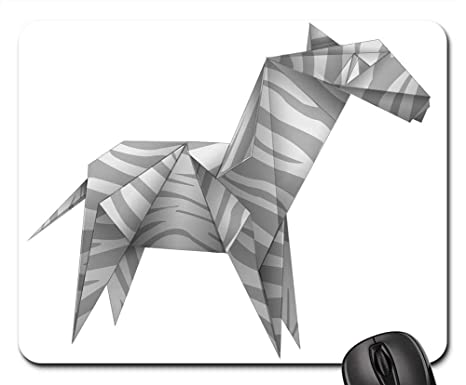 Amazon.com: Almohadillas para ratón de papel blanco y negro ...