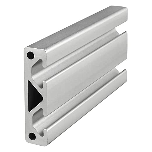 "80//20 Inc 10 Series 2"" x 4"" Smooth Aluminum Extrusion Part #2040-S x 12/"" Long N"