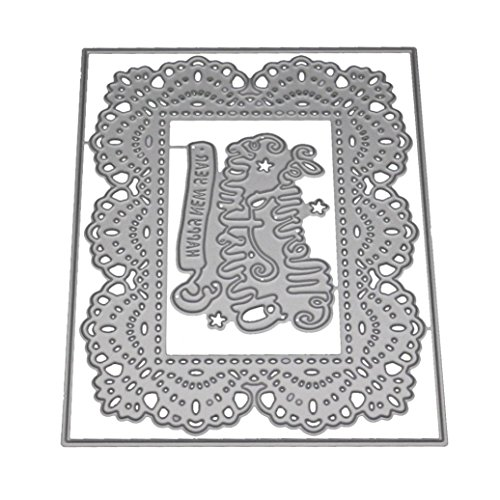 2019 Newest Criss-Cross Metal Die Cutting Dies Handmade Stencils Template Embossing for Card Scrapbooking Craft Paper Decor by E-Scenery