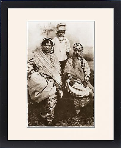Framed Print of Punjabi Muslims - North-west Frontier Province by Prints Prints Prints