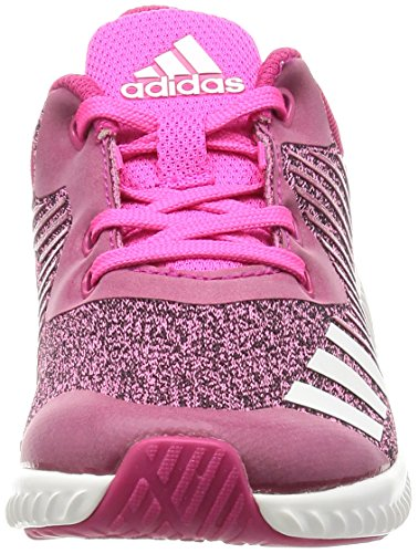 5 Ftwbla adidas 11 Kids' K 000 Rosfue Child Rosimp Shoes UK Unisex Pink Running Rosa Blue Fortarun rwq648w0R