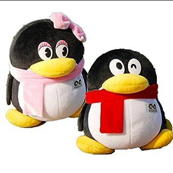 Amazon com: 20cm Tencent QQ Couples Plush Toys Cute Staffed Penguin