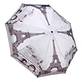 Galleria Paris Auto Super-Mini Umbrella - Paris