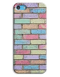 Colour Bricks Case for your iPhone 5C