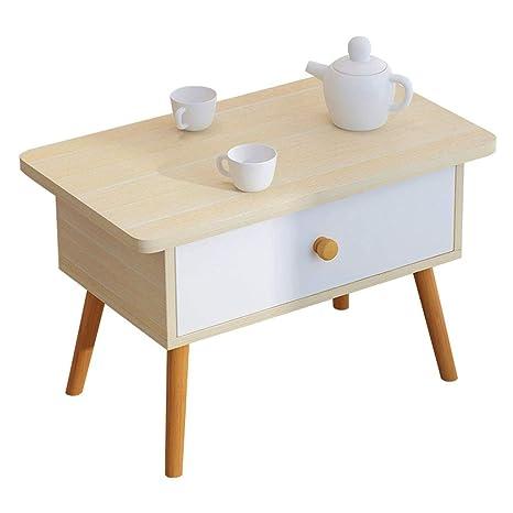 YangMi Mesita pequeña- Pequeña Mesa de Centro Simple en la ...