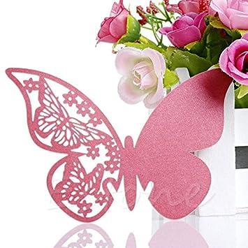 Amazon Buildent TM 50Pcs Butterfly Shape Place Card Wedding