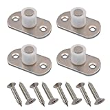 YES Time 4 Pcs Sliding Door Nylon Guide Wheel Floor Guide Roller Stay Roller Guide