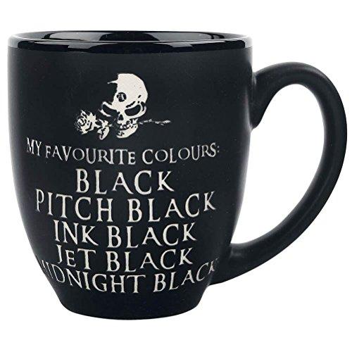 Alchemy Gothic My Favourite Colour Mug (Black) (Alchemy Gothic)