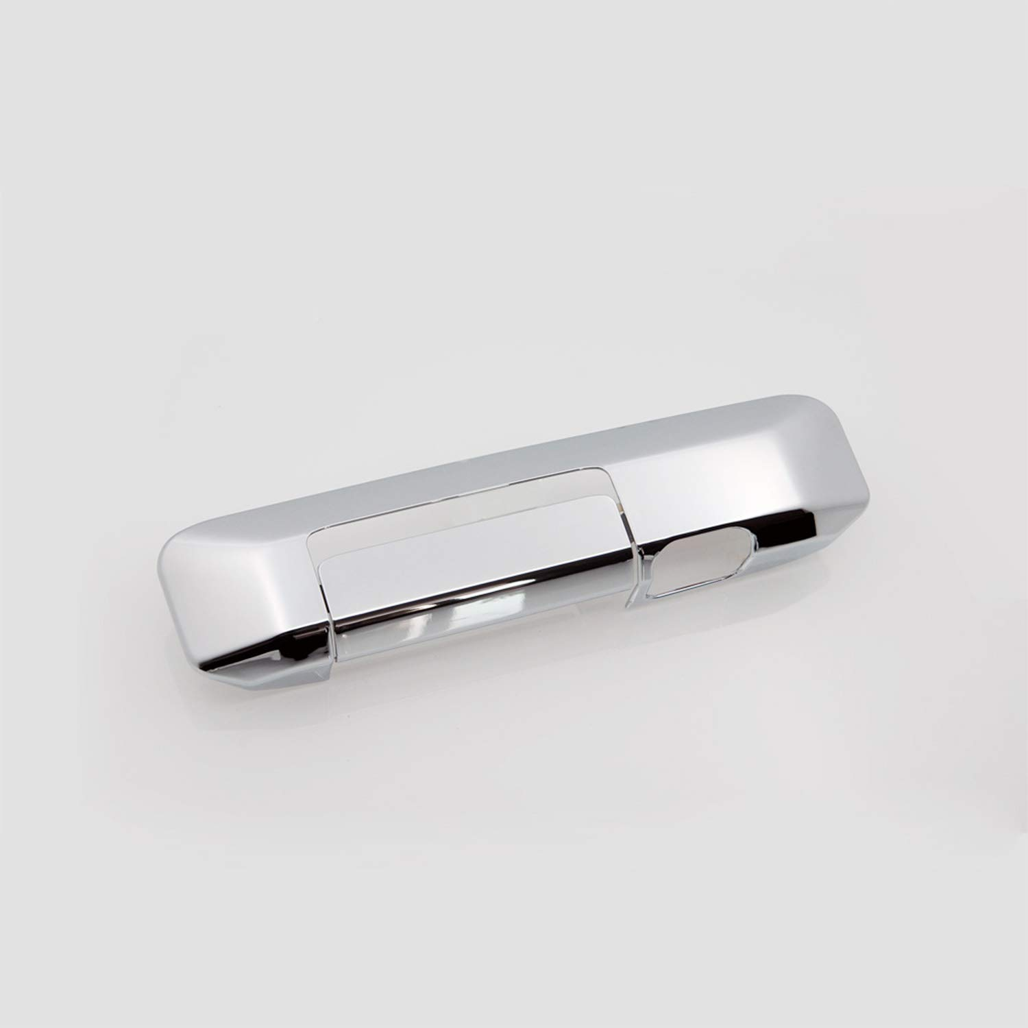 EAG Tailgate Handle Cover Triple Chrome Plated ABS with Camera Hole Fit for 05-15 Toyota Tacoma