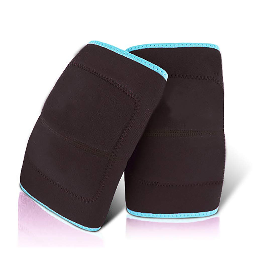 GINEKOO Protective Knee Pads for Children, Thick Sponge Anti-Slip, Adjustable Breathable Skin-Friendly Kids Kneepads for Protect The Knee