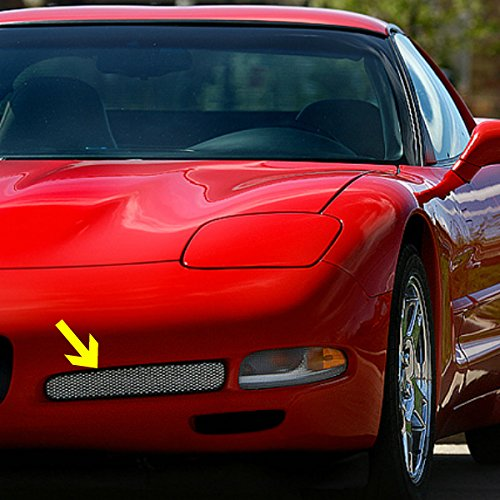 C5 ZO6 Style Corvette Fog Light Screen With Housing Includes Both Sides Fits: All 97 through 04 - C5 Complete Kit Body