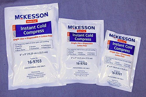 Instant Cold Pack Medi-Pak General Purpose 6 X 9 Inch Disposable - 24 Per Case